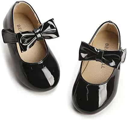 f8746199ab6 Bear Mall Girls  Shoes Girl s Ballerina Flat Shoes Mary Jane Dress Shoes ( Little