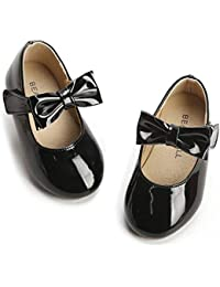 Girls' Shoes Girl's Ballerina Flat Shoes Mary Jane Dress...