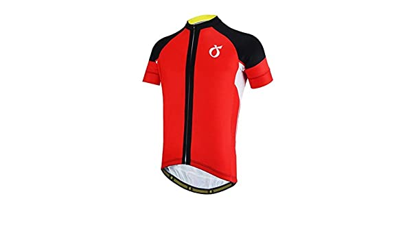 481bf3d67 Buy SRS Summer Men Cycling Jersey Mavic Pro Team Short Sleeve -Red-Parent  Online at Low Prices in India - Amazon.in