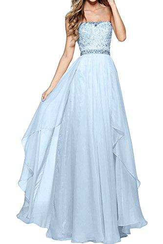 Linie mia Rock Prinzess Himmel Braut A Kleider Promkleider Langes Partykleider Blau Spitze Ballkleider Blau Abendkleider La Jugendweihe FU7OxqwSdd