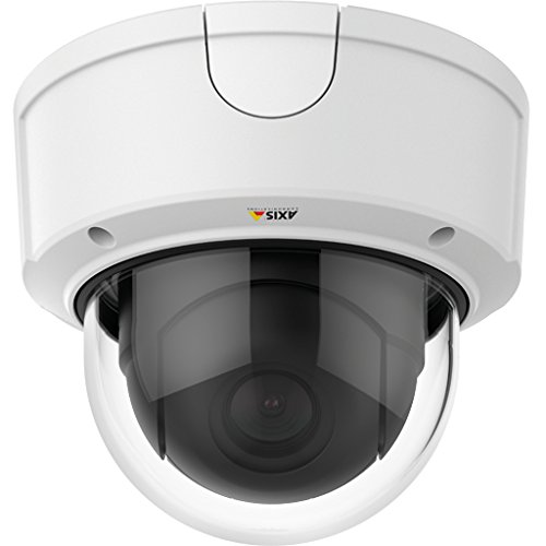 Axis Communications Q3615-VE Outdoor Day & Night HDTV 1080p Network Dome Camera with 4.1-9mm Varifocal Lens, Up to 50/60fps (No WDR), Up to 25/30fps (WDR), H.264, MJPEG, PoE, White by AXIS COMMUNICATION INC