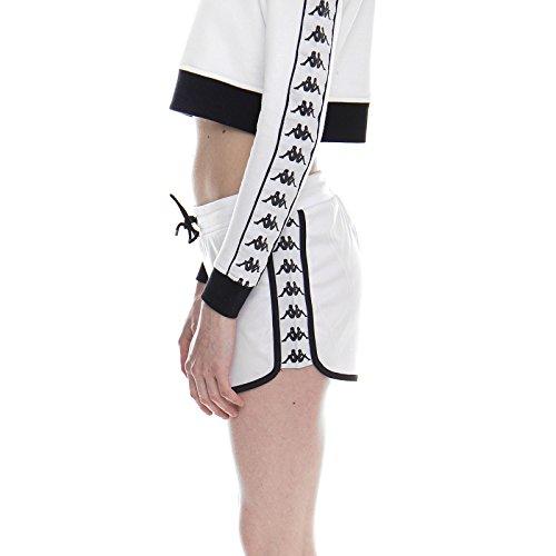 black Bianco Shorts Kappa Authentic Anguy White IHXCwq