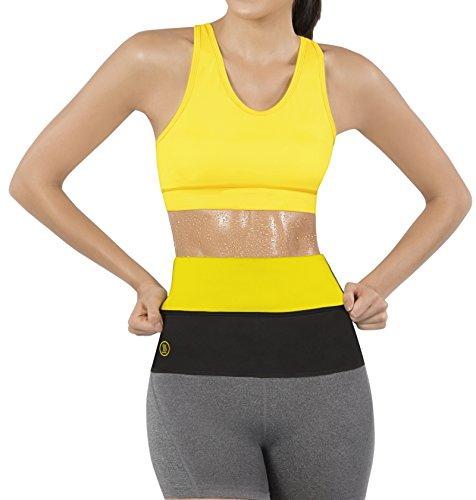 Hot Shapers Thermal Hot Sweat Belt for Women – Belly Fat Burner Sauna Wrap