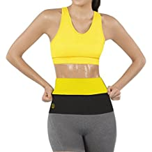 Hot Shapers Thermal Hot Sweat Belt for Women – Belly Fat Burner Sauna Wrap