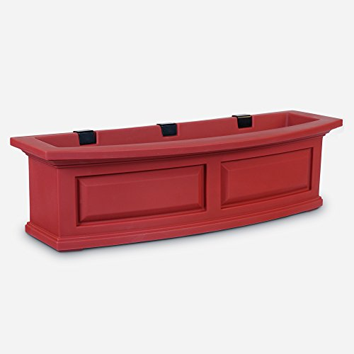 Mayne 4830-R Polyethylene Window Box, Red by Mayne