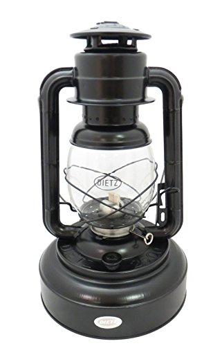 Dietz #2500 Jupiter Oil Lantern (Black) (Antique Wicks Heater Kerosene)