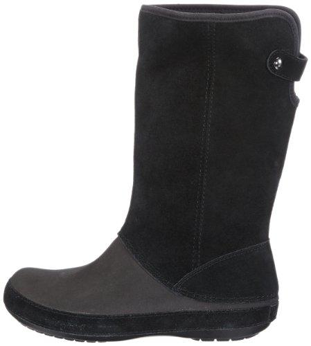 Donna Boot Stivali black Crocs Nero W Suede black Berryessa HqXwT