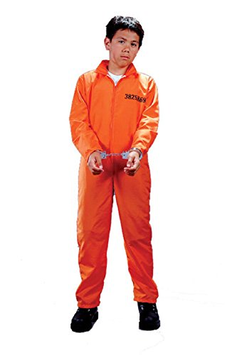 Prisoner Convict Jail Got Busted Boys Child Halloween Costume
