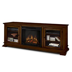 Real Flame Hudson Electric Fireplace Kitchen Dining
