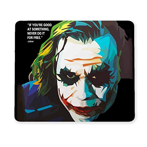 100yellow® Joker Designer Gaming Mouse Pads for Laptop and Computer