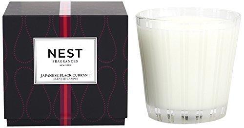 NEST Fragrances 3-Wick Candle- Japanese Black Currant , 21.2 oz by NEST Fragrances