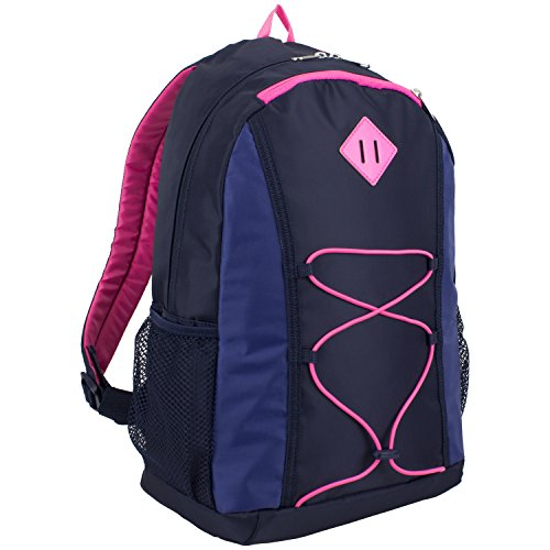 eastsport-contrast-bungee-backpack-navy