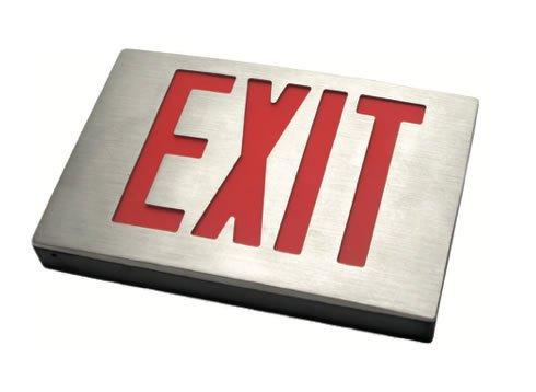 Aluminum New York City Exit Sign