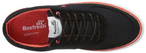 Boxfresh Ackroyd Shoes - Nylon Suede/black Red