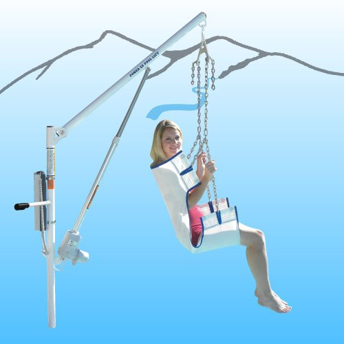 Power EZ Pool Lift w/ No Anchor System