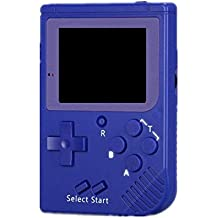 Handheld Classic Pocket Game Console Built-in 129 games (Blue) + free gift travel case