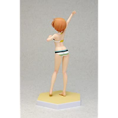 BEACH QUEENS Love Live! Hoshizora Rin 1/10 scale Painted PVC figure by Wave: Toys & Games