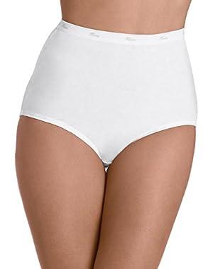 Hanes Women's 3Pack Assorted Cotton Briefs Ladies Panties Underwear 6