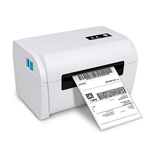 NETUM Shipping Label Printer - Commercial Grade Direct Thermal High Speed Shipping Printer - Compatible with ShipStation, Etsy, Ebay, Amazon - Barcode Printer - 4×6 Printer - Compare to Dymo 4XL