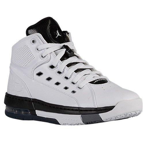 JORDAN MENS OL SCHOOL SNEAKER White - Footwear/Sneakers 11.5