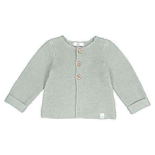 Garter Stitch Jacket - La Redoute Collections Garter Stitch Baby Cardigan Green Size Tiny (45 cm)