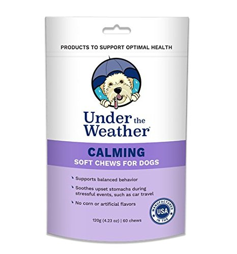 Under the Weather Calming Soft Chews for Dogs (60 count pack) by Under the Weather (Image #3)