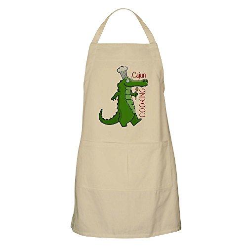 (CafePress Cajun_Cooking Apron Kitchen Apron with Pockets, Grilling Apron, Baking Apron)