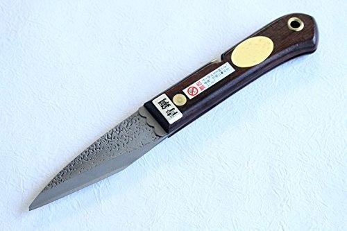 Left Hand Folding Kiridashi knife Japanese Grafting Woodworking Fujiwara Blue 2 steel BW 27mm by Fujiwara Japanese knife