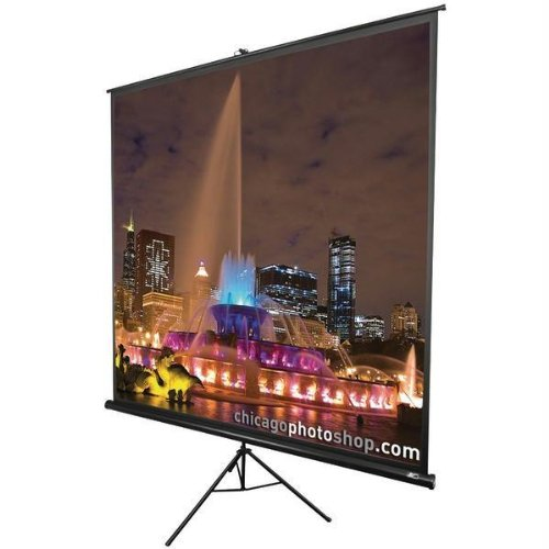 Projection Elite Tripod (ELITE SCREENS T136UWS1 Tripod Series Projection Screen (1:1 Format; 136