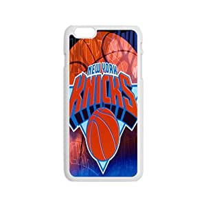 New York Knicks NBA White Phone Case for iPhone 6 Case