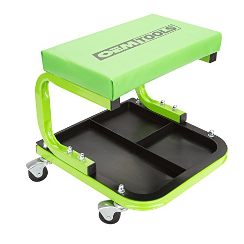 (OEMTOOLS 24948 Cushioned Creeper Seat (with Tool Tray))