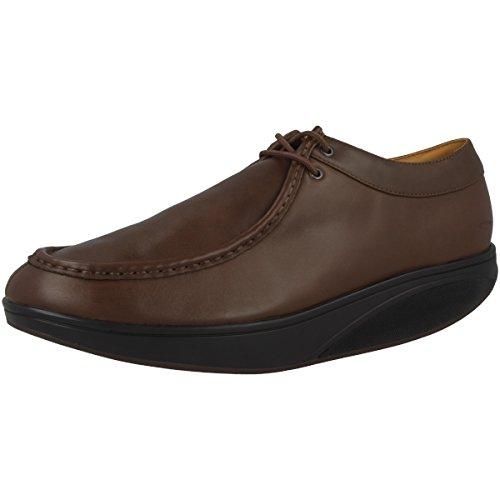 MBT - Zapatillas de Piel para hombre marrón marrón 43