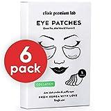 Collagen Eye Patches - Moisturizing Under Eye Pads - Anti Puffines & Dark Circles Spa Treatment - Best Hydrogel Eye Moisturizer for Women & Men - Gel Patch for Dry Skin Under Eye Zone (6 Pack)