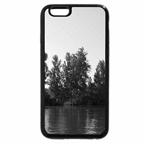 iPhone 6S Case, iPhone 6 Case (Black & White) - Sava River 1