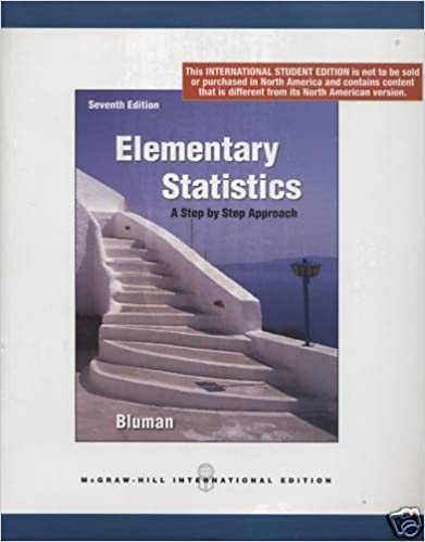 Amazoncom Elementary Statistics A Step By Step Approach