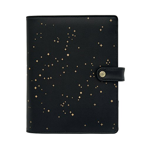 Discagenda Constellations Ringbound Undated Planner Organizer (A5 Size Snap Closure, Ringbound)