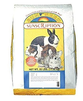Sun Seed Company Sss49085 Vita Prima Daily Diet Rabbit Food, 25-Pound