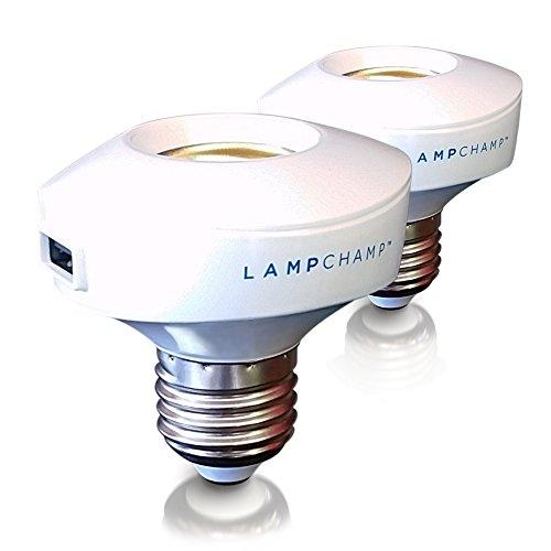 olens lampchamp usb light socket charger amp lamp adapter