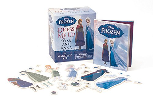 Frozen: Dress Me Up Elsa and Anna: A Magnetic Kit (RP Minis)