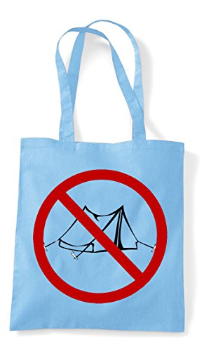 Pvp No Sign Multiplayer Online Blue Sky Shopper Tote Bag Camping Parody Gaming Statement Gamer UUnZ6Tx