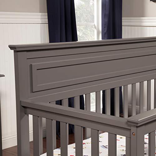 41RpuHjY7JL - DaVinci Autumn 4-in-1 Convertible Crib In Slate, Greenguard Gold Certified