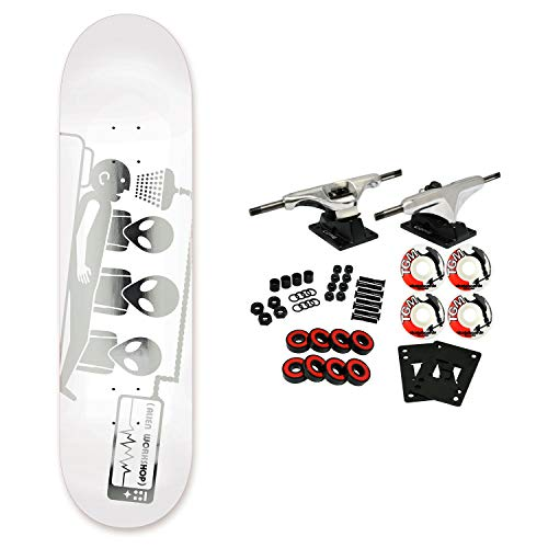 - Alien Workshop Skateboard Complete Abduction 3D Foil 8.0