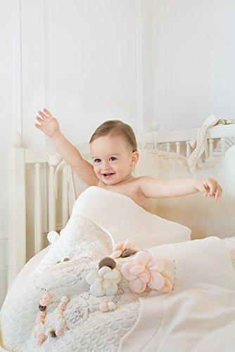 Baby Girl White Princess petali di lusso culla cameretta dei bambini ...