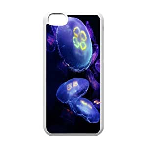 Jellyfish Popular Case for Iphone 5C, Hot Sale Jellyfish Case