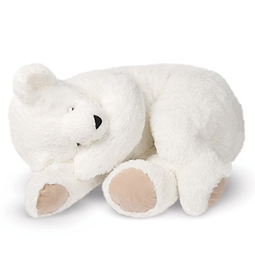 Vermont Teddy Bear - Giant Cuddle Buddy Bear, 3 Feet Long, White made in New England