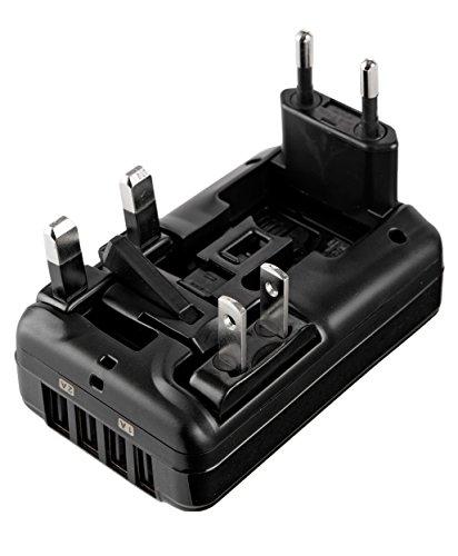 Tumi 4 Port USB Travel Adaptor, Black, One Size by Tumi (Image #2)
