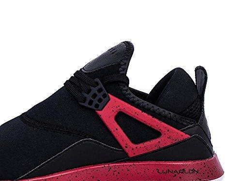 rosso Uomo Sneaker Nike Nero Nero 6P7w7