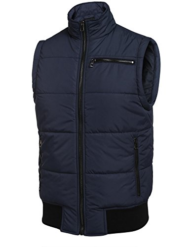 2f75f039ccb COOFANDY Men s Lightweight Down Vest Outdoor Warmer Puffer Vest ...