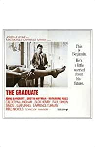 The Graduate FINEST BRAND CANVAS Print With Added Heavy BRUSHSTROKES Unknown 11x17