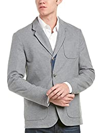 Faconnable Mens Sportcoat, 46, Grey